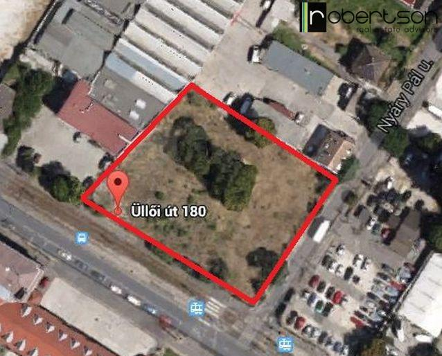 Üllői út 180  - development site for sale